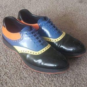 Mint PRADA Golfing Shoes